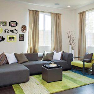 סט מדבקות מסגרת מורחב לתמונות משפחתיות  – דגם קיר משפחה